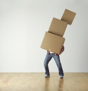 Moving Company packing
