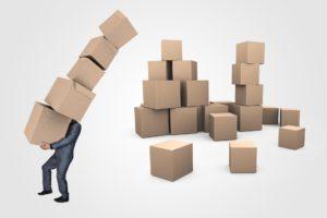 moving company-boxes